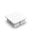Peak Ice Works King Ice Cube Tray-Confetti/Sprinkles