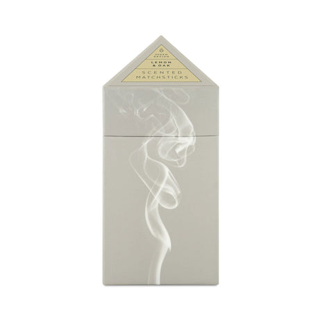 Skeem  Scented Matchsticks - Lemon Oak