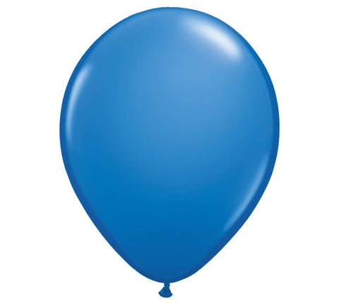 "11"" Dark Blue Balloon"