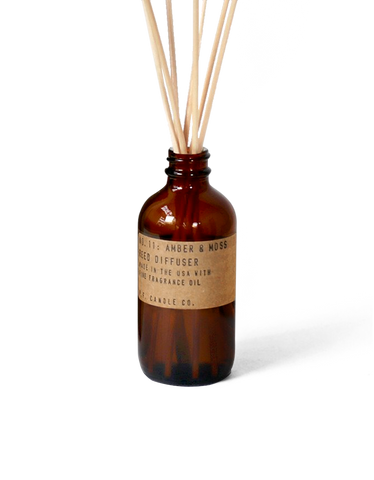 Amber & Moss Reed Diffuser from P.F. Candle Co.