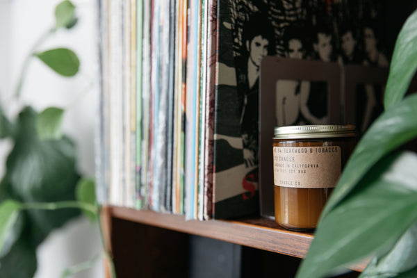 Teakwood & Tobacco Soy Candle from P.F. Candle Co.