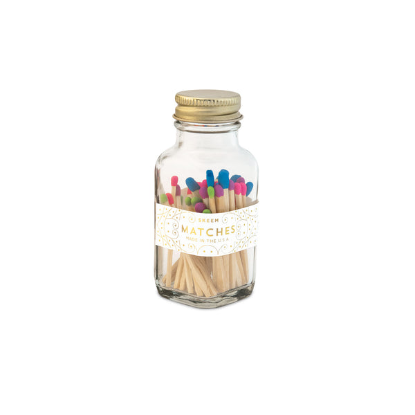 Skeem Multicolored Rainbow Party Mini Matches