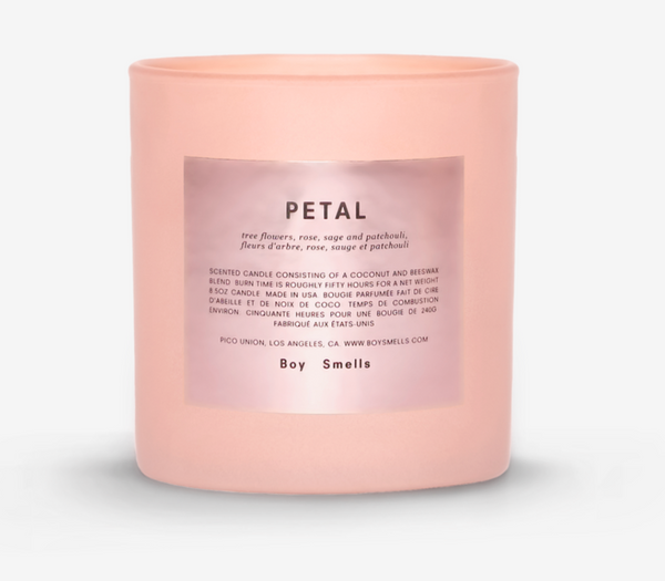 Petal Candle by Boy Smells- Limited Edition Pink
