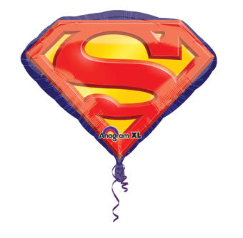 "26"" Superman Emblem Foil balloon"