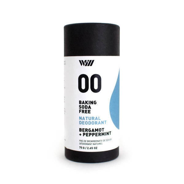 Way of Will Baking Free Soda Deodorant + Bergamot + Peppermint