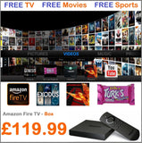 Amazon Fire TV Box with Kodi 16.1 (XBMC) Fire TV Box - FULLY LOADED