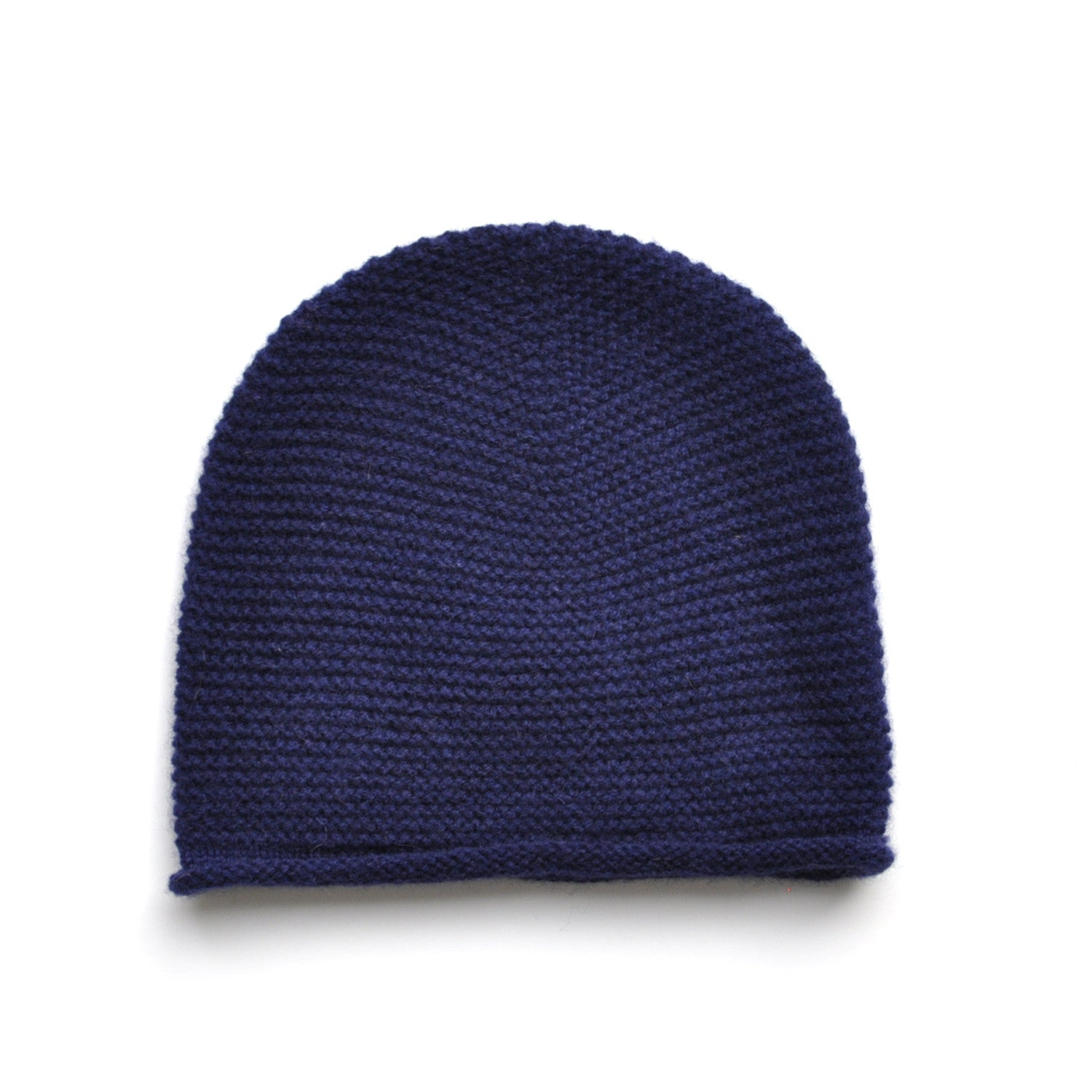 bafcb76f98d98 Knitted Beanie - 100% Cashmere - Navy Childrens Hat JAM London