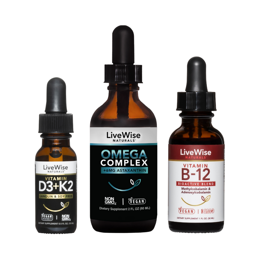 LIVE WISE VEGAN ESSENTIALS SET
