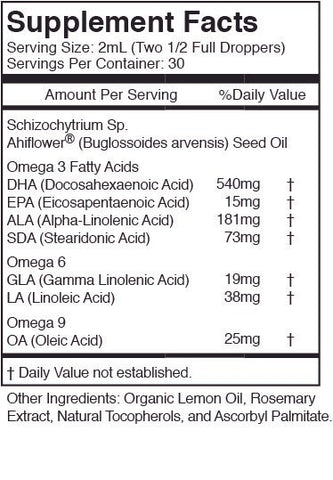 Image of Omega 3-6-9 - No Fish - Plant Based - Vegan Friendly