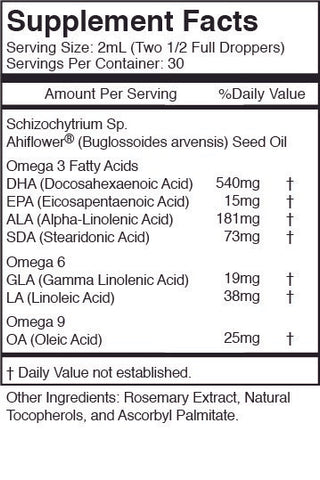 Omega 3-6-9 - No Fish - Plant Based - Vegan Friendly