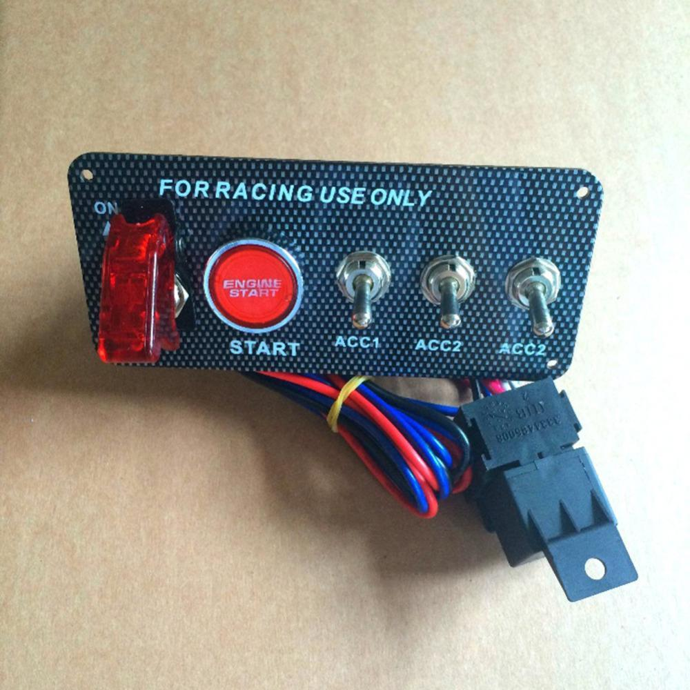 Products Page 6921 Used Ultrasounds Home Gt Switches Sensors Spst Toggle Switch Car 5 In 1 12v Ignition Panel Engine Start Push Button Carbon Fiber Auto Led
