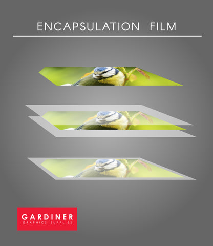 Encapsulation film coverage 100% encap UK lamination film GMP