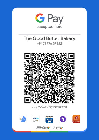 The Good Butter Bakery GPay QR Code