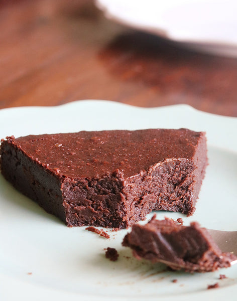 Belgian Dark Chocolate Cake (flourless)