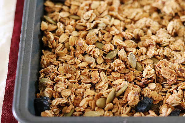 Seed mix & Raisins Granola