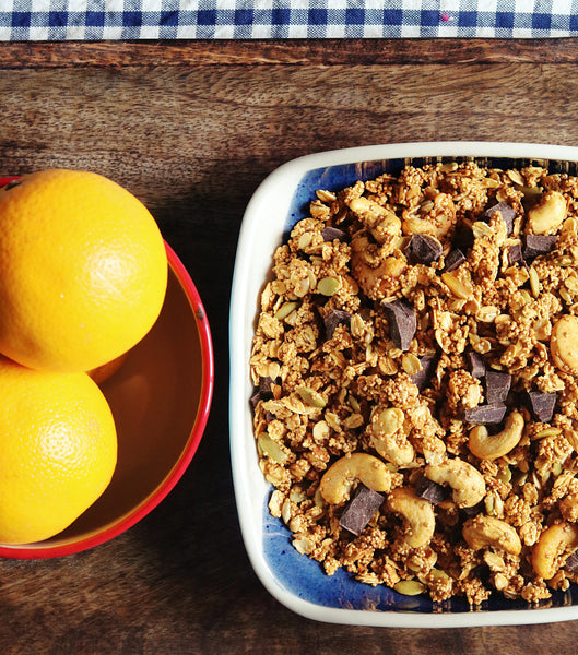 Orange & Chocolate chunks Muesli