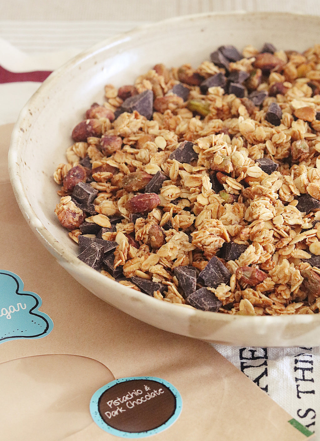 Pistachio & Dark Chocolate Granola
