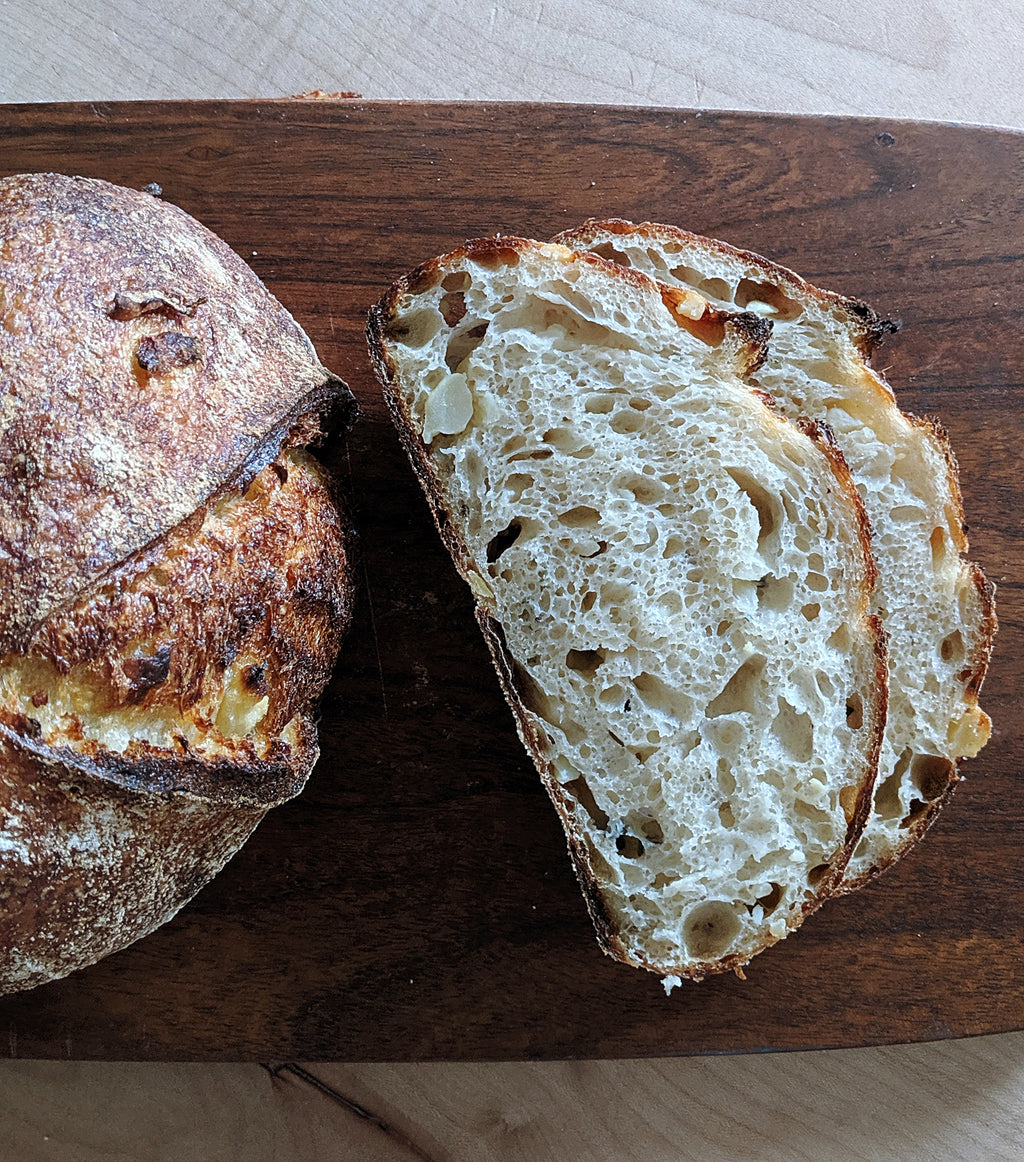 Potato & Rosemary Sourdough Loaf