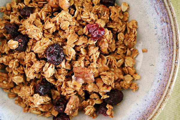 Walnut Sesame & Cranberries Granola
