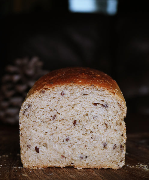 60% Wholegrain Seeded Sandwich Loaf