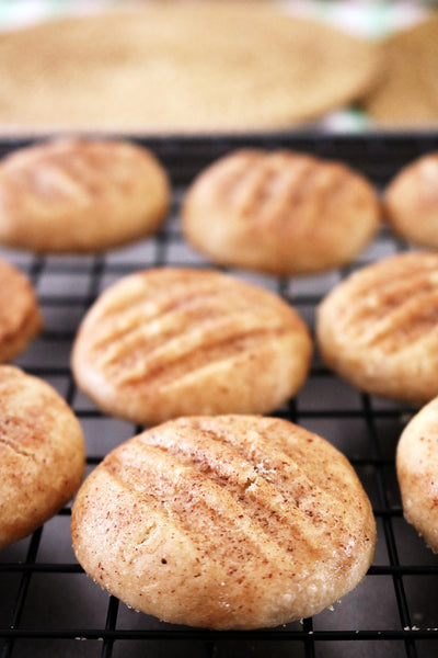 Cinnamon Shortbread Cookie