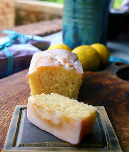 Lemon Yogurt Mini Loaf Cake