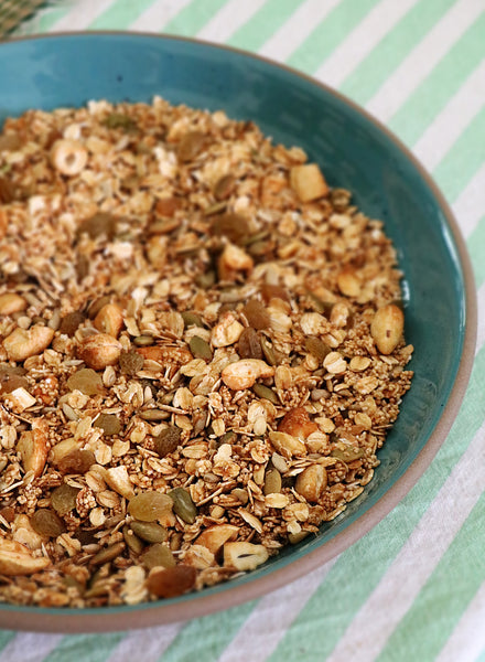 Muesli with Nuts, Seeds & Organic Jaggery (extra nutty)