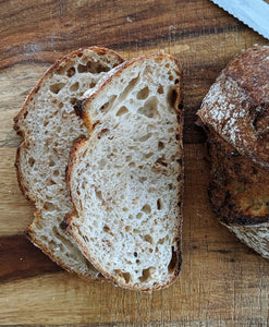 Toasted Oatmeal Porridge Sourdough Loaf