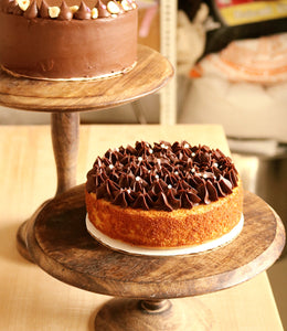 Orange Almond Cake with Belgian Chocolate Frosting (gluten free)