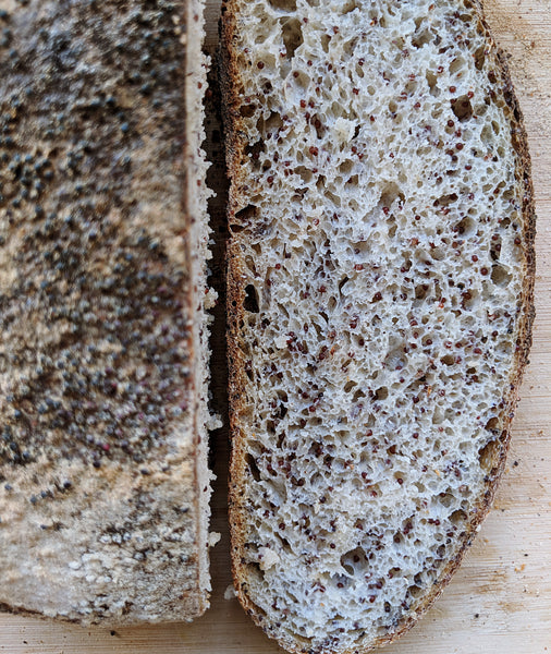 Ragi Porridge Sourdough Bread