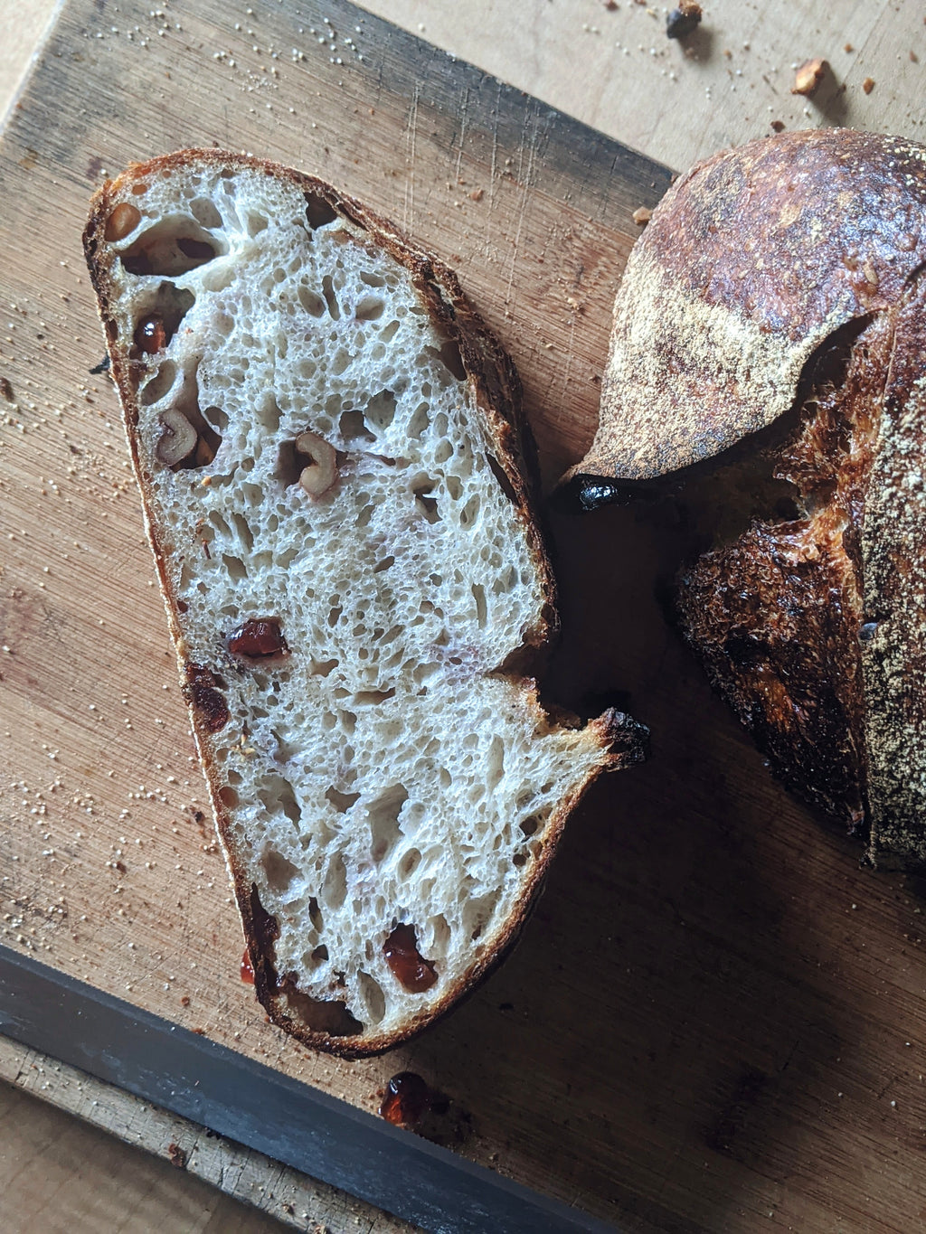 Walnut & Cranberry Sourdough Loaf