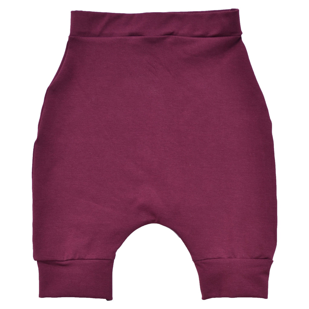 Basic Burgundy Shorts
