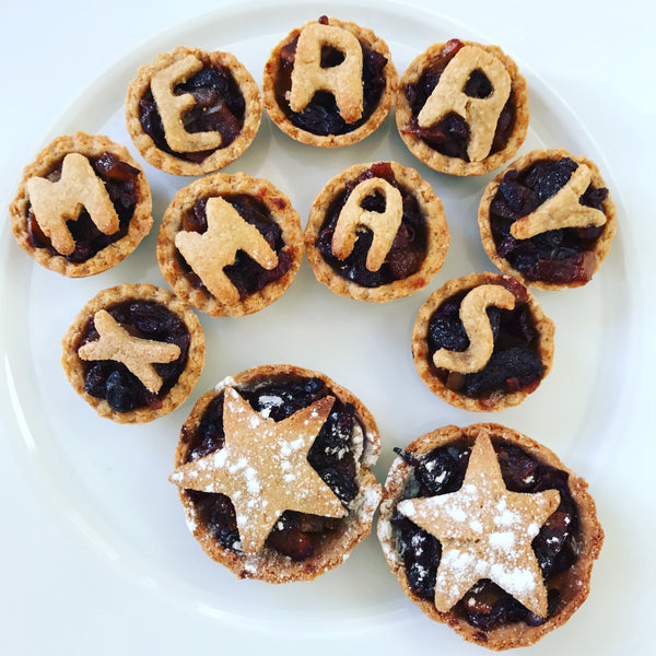Gluten/Dairy/Egg Free Mince Pies with an added extra - Cocoa Nibs