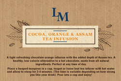 Cocoa, Assam Tea & Orange Infusion