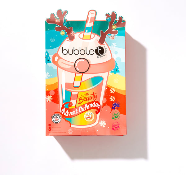 Exclusive to Argos, Bubble T's advent calendar has landed!