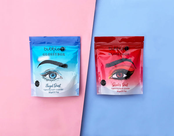 Angel vs Devil - which one are you? Bubble T x Glossybox is here!