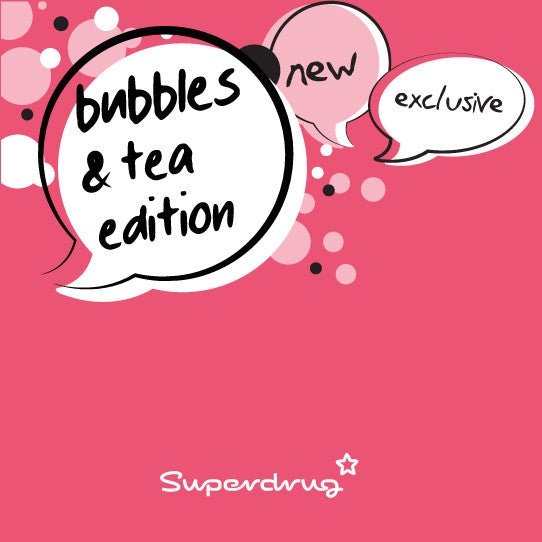 Bubble T launches Bubbles and Tea Edition at Superdrug
