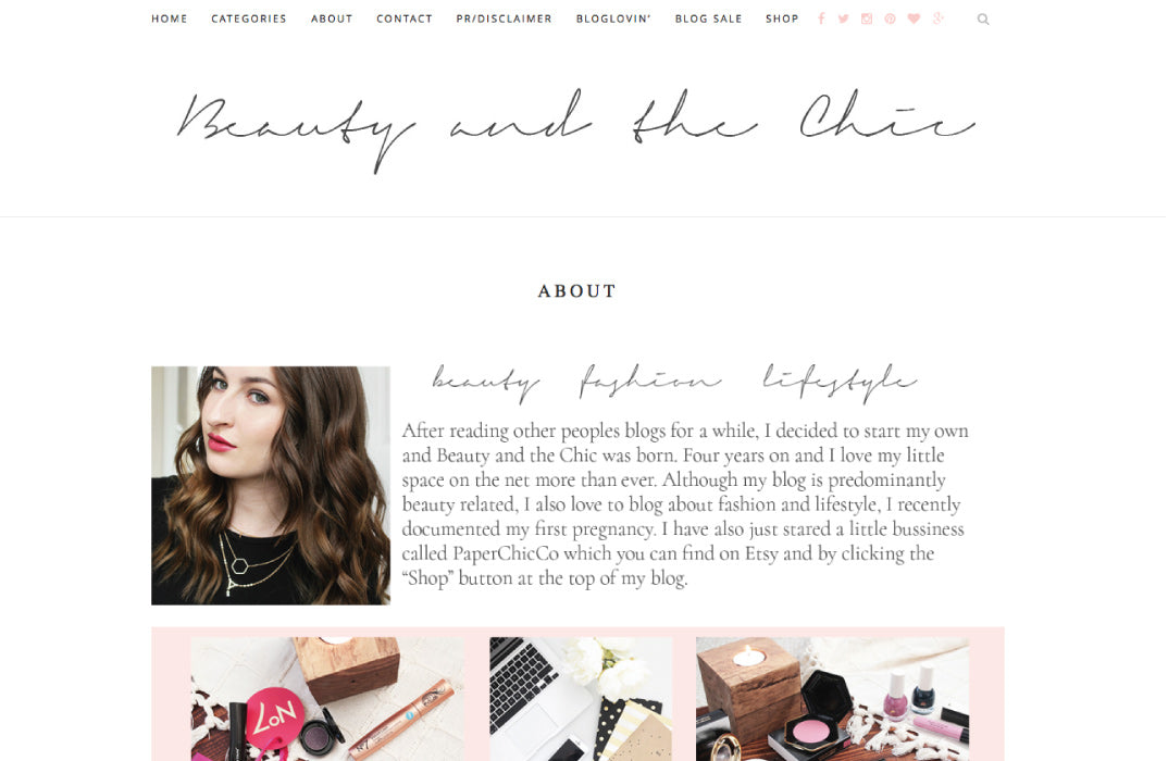 Beauty and the Chic