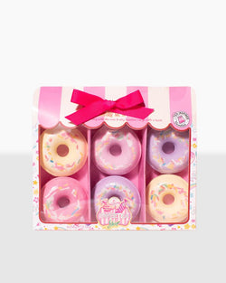 Sweetea Edition Donut Bath Bomb Gift Set (6 x 58g)