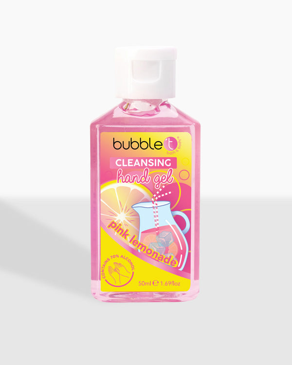 Pink Lemonade Anti-Bacterial Cleansing Hand Sanitiser (70% Alcohol)