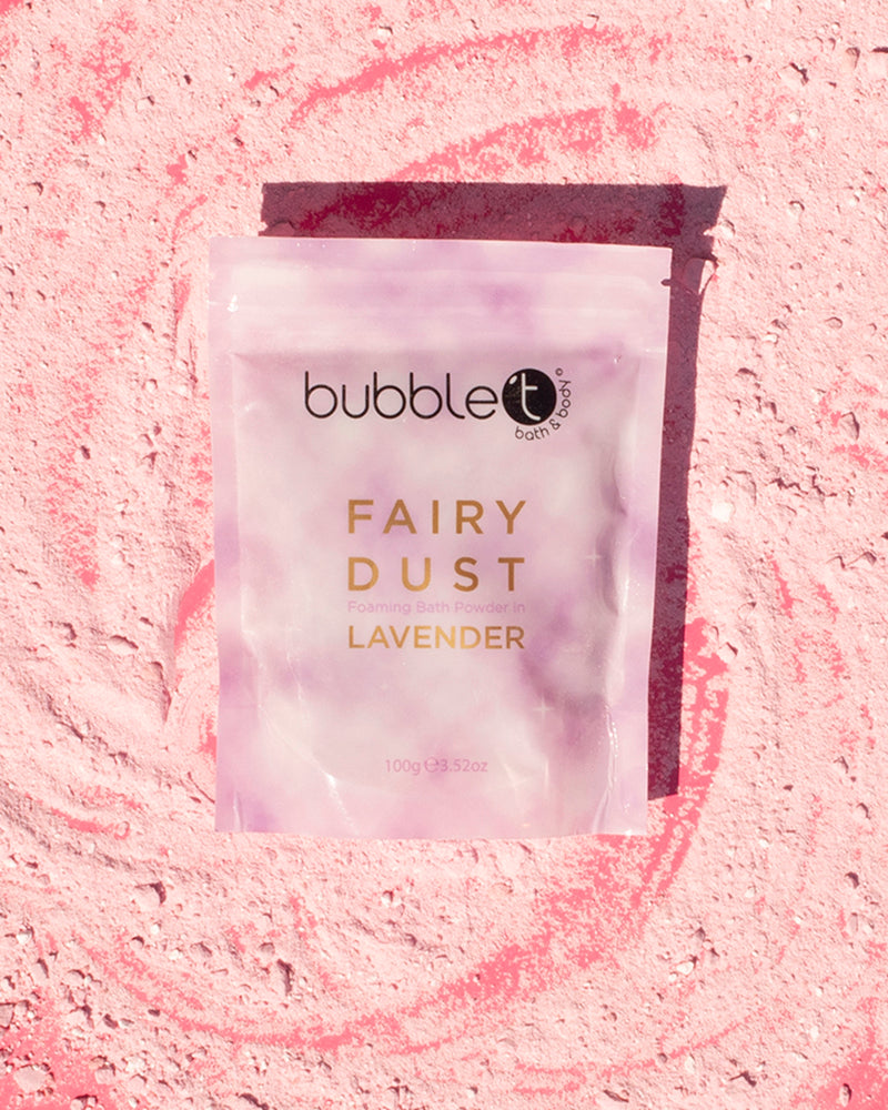 Lavender Fairy Dust Foaming Bath Powder
