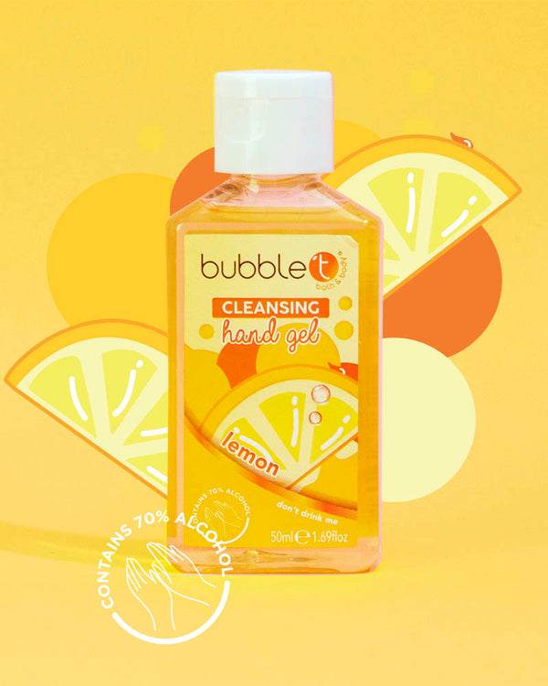 Lemon Anti-Bacterial Cleansing Hand Gel (70% Alcohol)