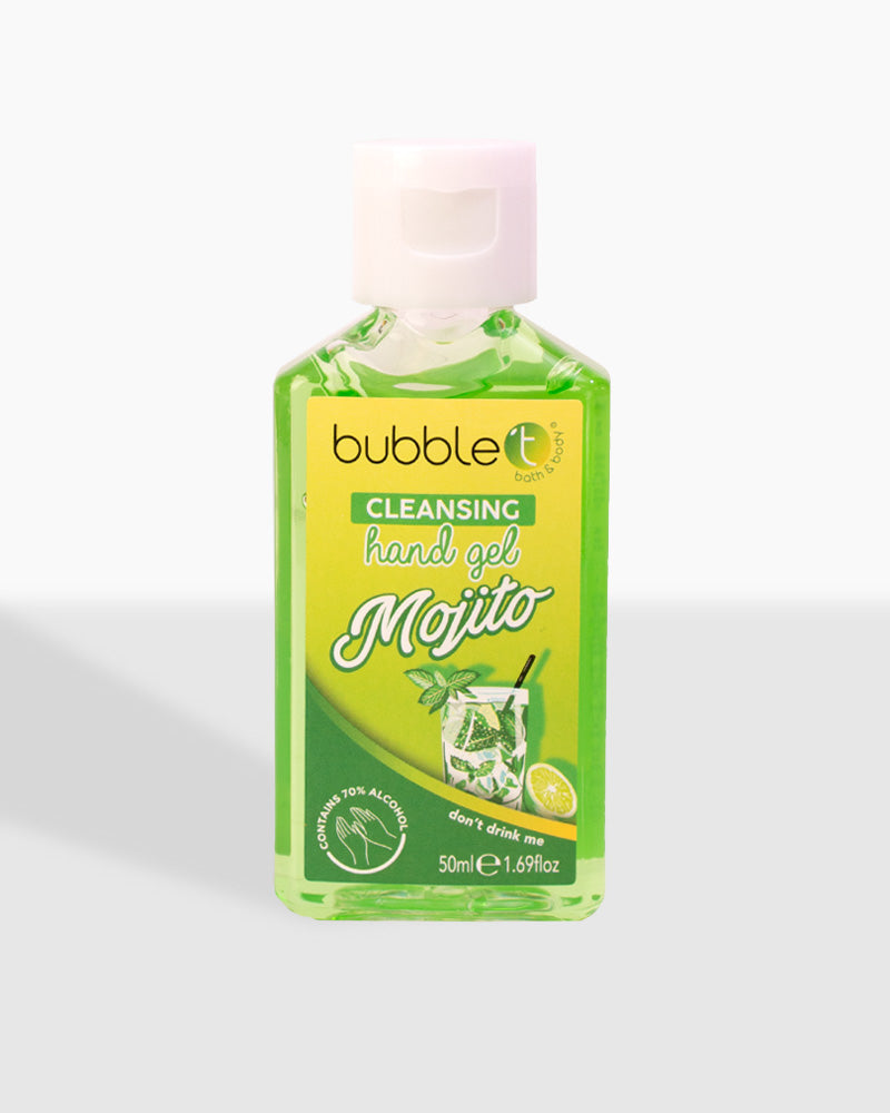 Mojito Anti-Bacterial Cleansing Hand Gel (70% Alcohol)