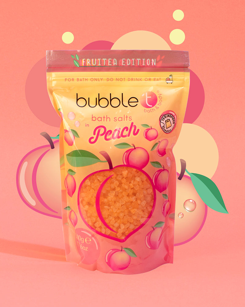 Fruitea Peach Bath Bundle