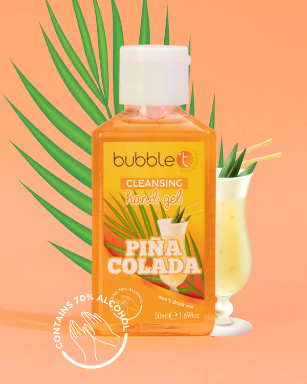 Piña Colada Anti-Bacterial Cleansing Hand Sanitiser (70% Alcohol)