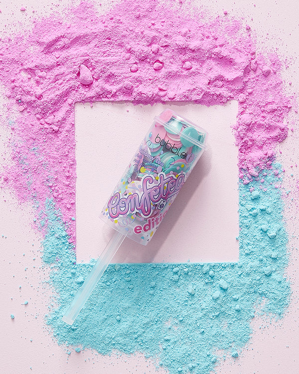 Confetea Edition Bath Confetti Push Pop
