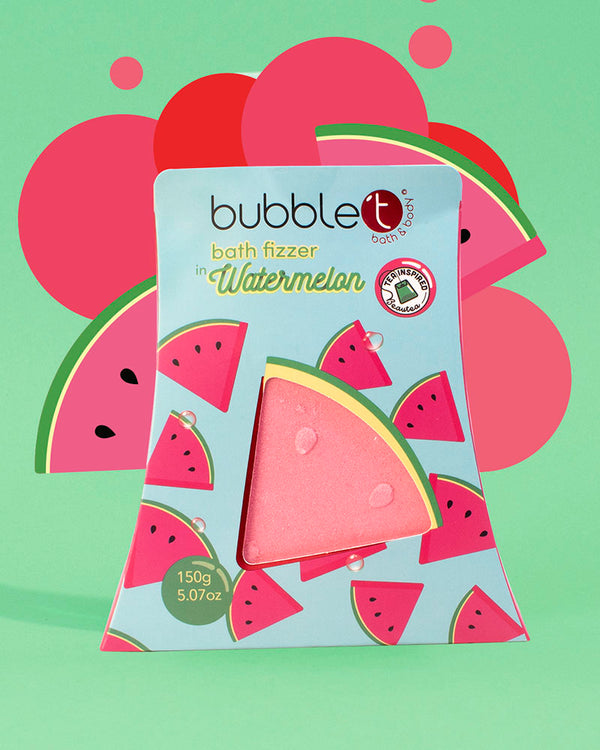 Watermelon Bath Bomb Fizzer - Fruitea Edition (150g)