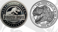 Jurassic Park collectible coin