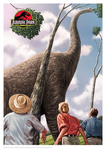 Jurassic Park limited edition art print