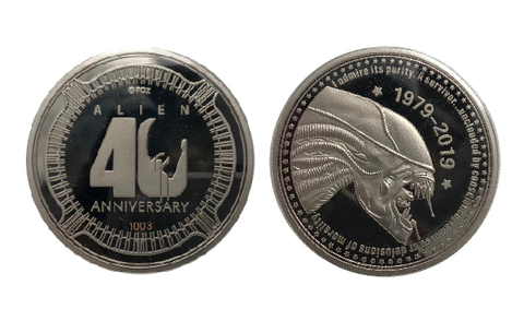 alien, coin, limited edition, alien40
